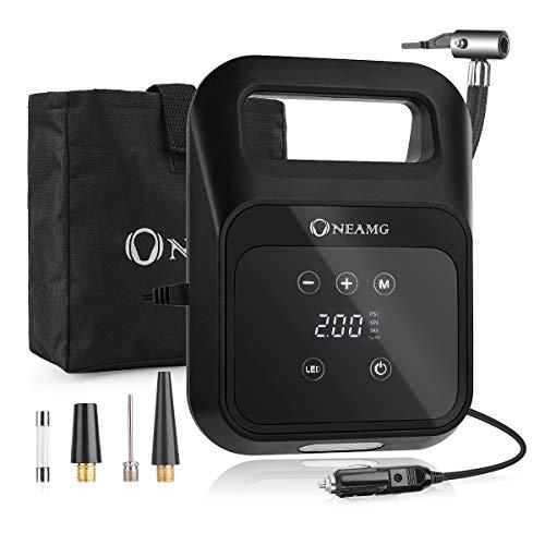 OneAmg Luftkompressor, 12V Auto Kompressor 150PSI Portable Auto Reifen...