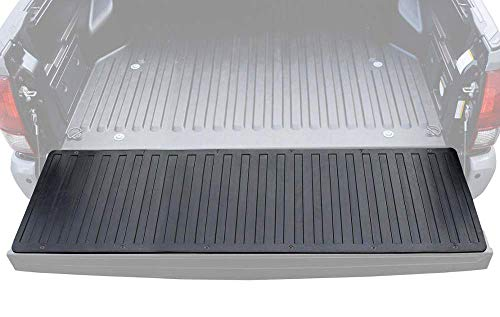 BDK Heavy-Duty Utility Truck Bed Tailgate Mat, 60' x 19.5' – Extra Thick Rubber Cargo Liner for Pickup Trucks with Universal Trim-to-Fit Design