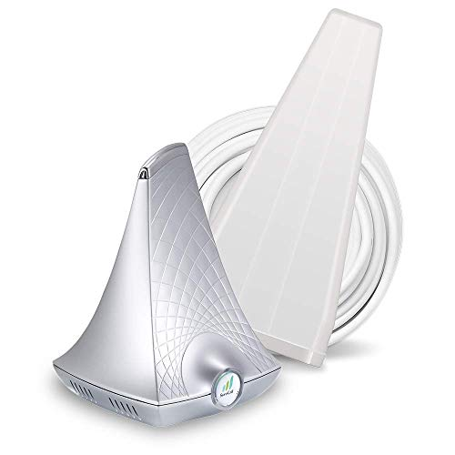SureCall Flare 3.0 Cell Phone Signal Booster for Home Yagi Antenna Configuration | Integrated indoor antenna for easier install | Covers up to 3000 sq ft | Boosts Voice, data for 4G, LTE, 3G