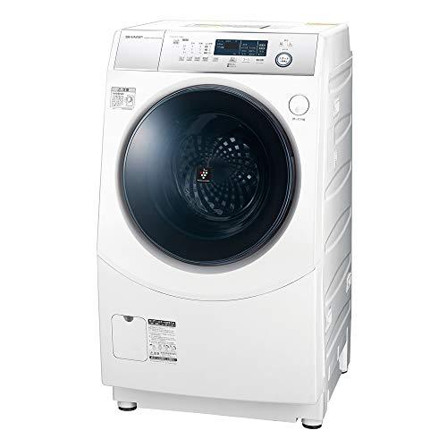 シャープ 洗濯機 ドラム式洗濯機 ヒーター乾燥 左開き(ヒンジ左) DDインバーター搭載 ホワイト系 洗濯10kg/...