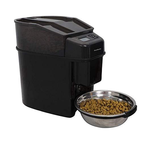 PetSafe Futterautomat Healthy Pet Simply Feed für Hunde und Katzen 5,6 L - Programmierbar bis zu 12 Mahlzeiten / Tag, mit LCD-Bildschirm