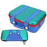 Sac de rangement pour console de jeu en mousse prédécoupée de haute qualité, étui de transport...