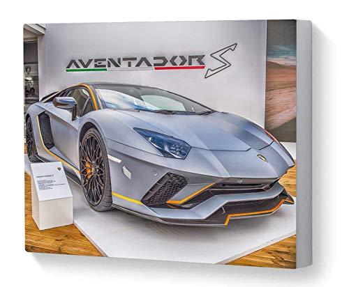Canvas Print Wall Art Motorsport Lamborghini Aventador S Goodwood Festival of Speed 2017