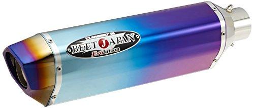 BEET(ビート) NASSERT-EvoII フルエキゾーストマフラー ブルーチタン Ninja400 14- 0227-KC9-BL