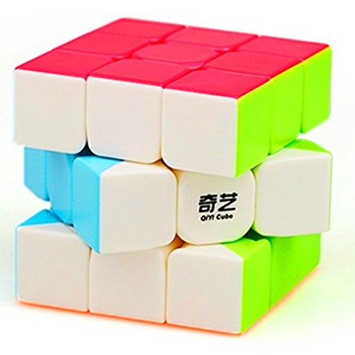 CuberSpeed QiYi Warrior W 3x3 Stickerless Speed Cube Puzzle Warrior W 3x3x3...