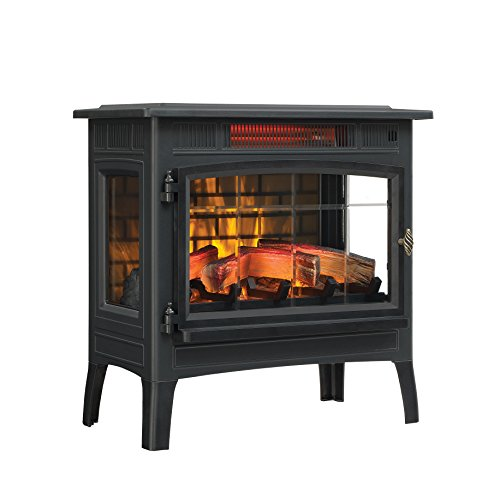 Duraflame 3D Infrared Electric Fireplace Stove with Remote Control -...