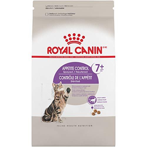 Product Image 1: Royal Canin Appetite Control Spayed/Neutered 7+ Dry Adult Cat Food, 6 lb. bag
