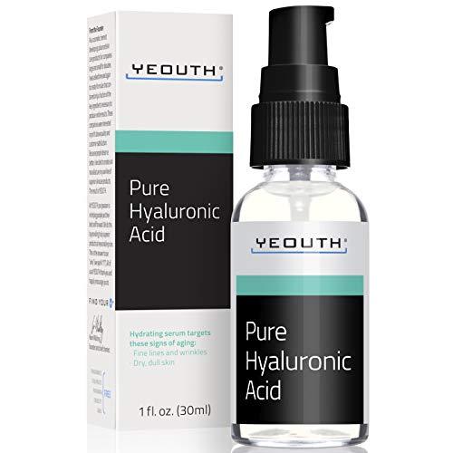 Suero Ácido Hialurónico Facial YEOUTH - Fórmula 100% pura