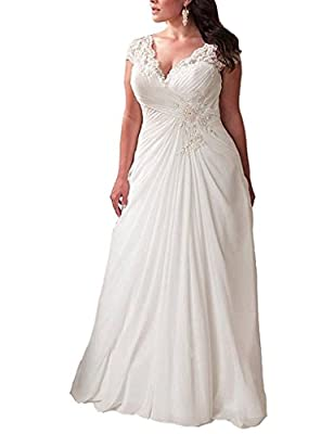 """★Features:V-neck,Cap Sleeve,Sweep/ Brush Train, Sleeveless,Built-in Bras. ★We have stocks for the size2,4,6,8,10,12,14,16,18W,20W,22W,24W,26W.These sizes can be shipped within 2 days. ★Pls Search """"YIPEISHA"""" Store for more products.We encourage you se..."""