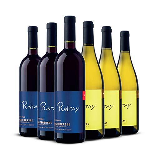 ERSTE+NEUE - Alto Adige - Schiava Classico Superiore e Chadonnay - 6 bottiglie - LINEA PUNTAY - Erste+Neue Alto Adige - 75 cl.