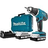 Makita HP457DWE Perceuse visseuse à percussion + 2 batteries 18V 1,5 Ah Li-ion...
