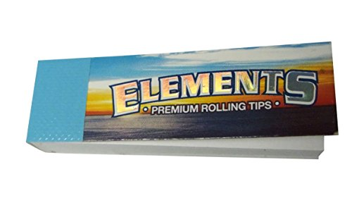 5 booklets Elements Premium Rolling Tips エレメンツ プレミアム チップ ローチ クラッチ 巻き...