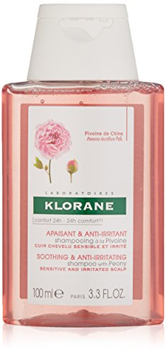 Klorane Shampoo with Peony, Soothing Relief for...