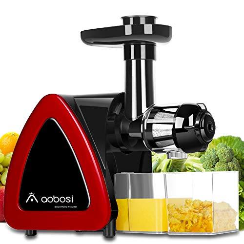 Aobosi Slow Masticating juicer Extractor, Cold Press Juicer...