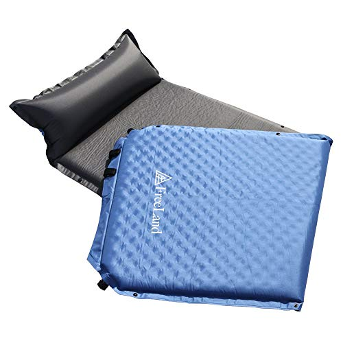 FreeLand Camping Sleeping Pad Self Inflating with Attached...