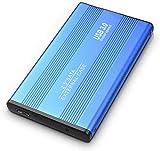 Disque dur externe externe de 2 To, disque dur externe fin compatible PC,...