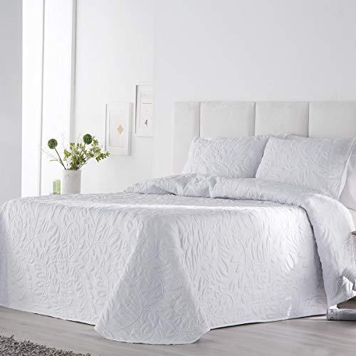 Antilo Fundeco - Norma bouti bedspread - White Color - Bed 180 cm