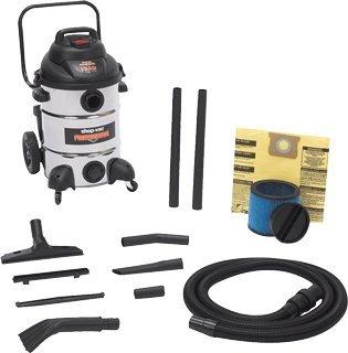 Shop Vac 12 Gal 6.5 HP Stainless Steel Wet/Dry Utility Vacuum