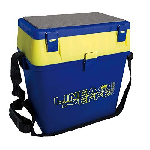 Lineaeffe Cassettone Surfcasting LF Seat Box Big 39.5 x 24.5 x 38 cm Completo con Scatole