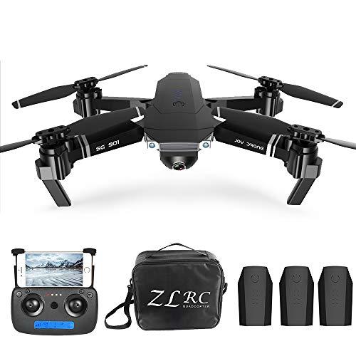 Goolsky SG901 4K Drone con Posizionamento Ottico della Fotocamera Posizionamento del Flusso Interfaccia MV Seguimi Foto gesti Video Quadricottero RC 1/2/3 Batteria