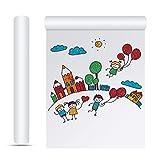 XAVSWRDE 2 Rotolo Carta Disegno 22,5 CM x 10 M Rotolo Carta per Cartamodelli Carta Disegno Bambini Carta da Pittura Rotolo di Carta per Pittura Rotolo Carta per Disegnare Carta per Pittura