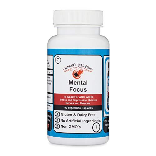 Mental Focus (Similar o Dr. Sebi's Banju) Qty: 90 Capsules 100% Natural