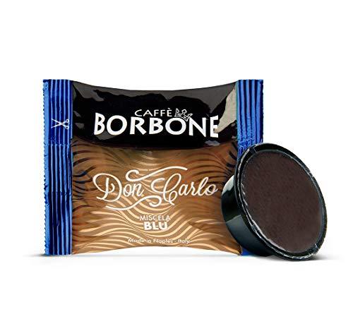 Caffè Borbone Don Carlo Miscela Blu - Confezione da 100 Capsule - Compatibili con macchine a marchio Lavazza*A Modo Mio*
