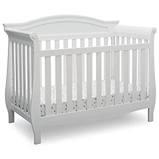 CONVERTIBLE CRIB: Converts from a crib to a toddler bed, daybed and full size bed (Daybed Rail included; Toddler Guardrail #0094 and Full Size Bed Rails #0050 sold separately); Available in Grey, Bianca White or Dark Chocolate GROWS WITH BABY: The 3 ...