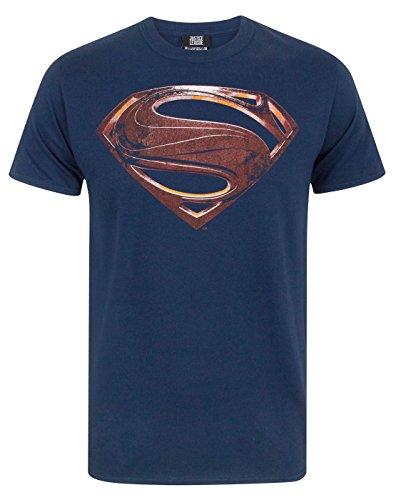 Justice League Superman Logo Men's T-Shirt (S)