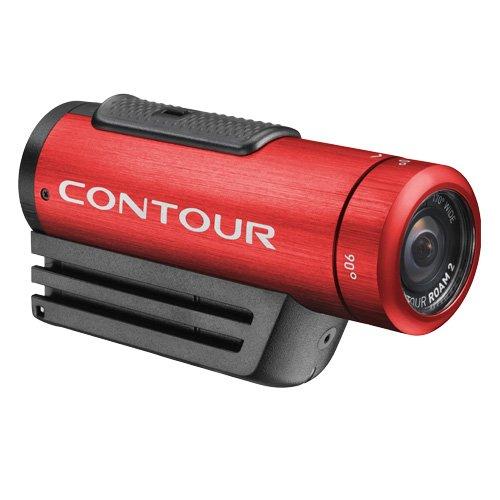 【日本正規品】 Contour ウェアラブルビデオカメラ ContourROAM2 Red 防水仕様 #1819RD