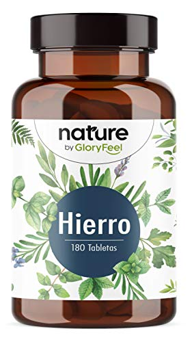 Bisglicinato de Hierro 40mg + 40mg Vitamina C natural de Acerola para...
