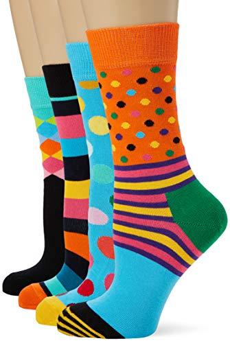 Happy Socks Classics Gift Box Calze, Multicolore (Multicolour 630), 4/7 (Taglia Unica: 36-40) (Pacco...