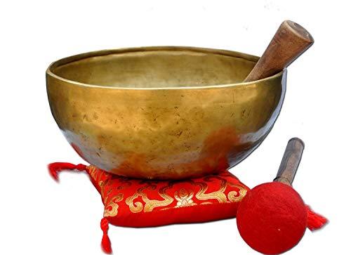 10'Amazing Solar Plexus Chakra Tibetan Singing Bowl-Handmade singing bowl, Singing bowl from Nepal,meditation bowls.