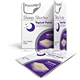 PatchMD - Sleep Starter Topical Patch - Natural Sleep aid Patch with Melatonin & Magnesium - Supports restful Sleep and eliminates Jet lag - 30 Day Supply