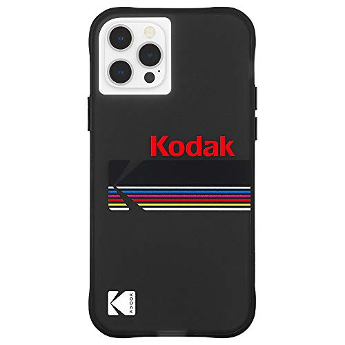 【KODAK by Case-Mate】 3.0m 落下耐衝撃ハイブリッドケース コダック White Kodachrome Super 8 for iPhone 12 / iPhone 12 Pro CM044826