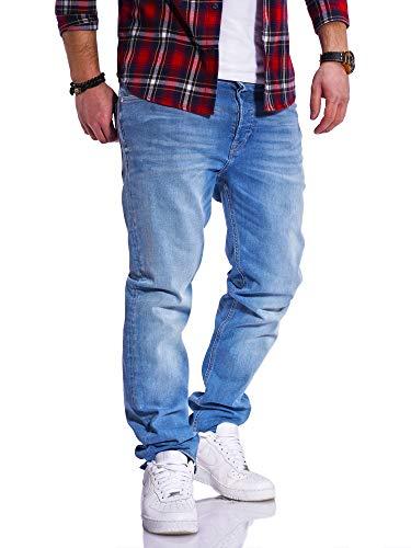 JACK & JONES Herren Jeans Clark ARIS Regular Fit Straight Leg Denim...