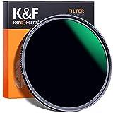 Filtro ND 77mm K&F Concept Nano-X Filtro per obiettivi ND1000 (10 stop)18 Strati Rivestimento Multistrato Nano ND Filtro