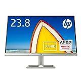 HP モニター 23.8インチ ディスプレイ フルHD 非光沢IPSパネル 高視野角 超薄型 省スペース スリムベゼル HP 24f ブラック (型番:2XN60AA#ABJ)