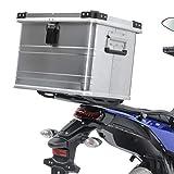 Topcase Aluminio Baul para KTM 690 Duke/R/Enduro/R Gobi 45L