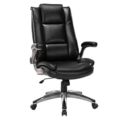 Office Chair High Back Leather Executive...