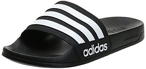 adidas Adilette Shower Chanclas Hombre, Negro (Core Black/Footwear White/Core Black 0), 43 EU (9 UK)