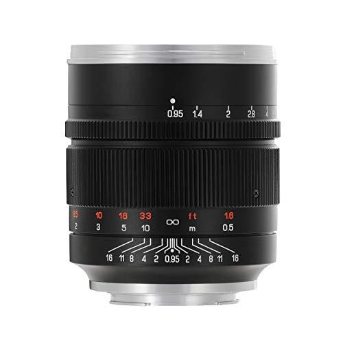 【国内正規品】中一光学│ZHONG YI OPTICS 単焦点レンズ SPEEDMASTER 50mm F0.95 III (ニコンZ)