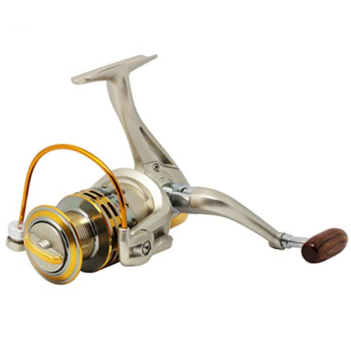 Wallfire Mulinello da Pesca in Metallo 8BB 5.2: 1 Attrezzatura da Pesca Mulinello da Spinning Pesca in Mare 800-7000 (Size : 7000 Series)