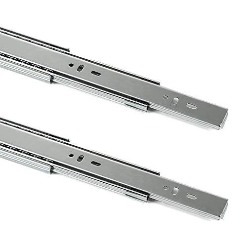 SOTECH 1 Paar Vollauszüge KV2-45-H45-L500-SC mit SoftClosing Höhe 45 mm, Länge 500 mm, Schubladenauszug belastbar bis 45 Kg