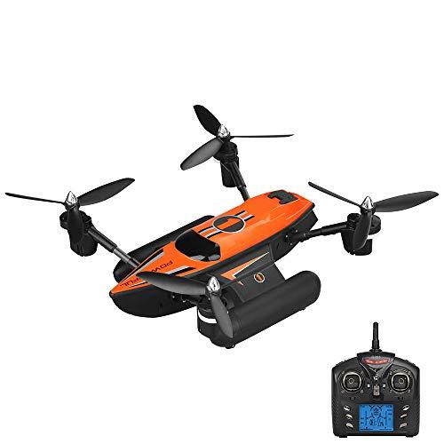 Ledu Drone WiFi Live Video, Marine, Terra e dirigibile Quadcopter Toy Fotografia Aerea, Telecomando aeromobili, Facile da trasportare, Senza Testa Mode, Un Tasto di Ritorno, Outdoor Principianti