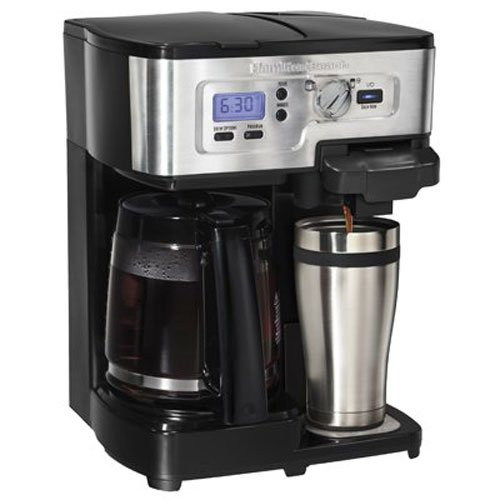 Hamilton Beach 49983 2-Way FlexBrew Coffeemaker,Black