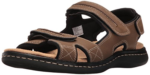 Dockers Mens Newpage Sporty Outdoor Sandal Shoe,Dark Tan, 13 M US