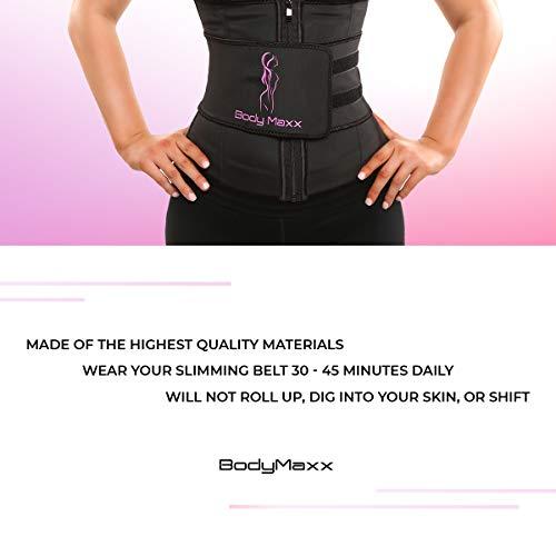Body Maxx XL Waist Trainer - Plus Size Waist Trainer for Women - Waist Trainer a 6