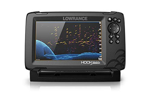 Lowrance Hook Reveal 7X Fishfinder con trasduttore TripleShot Transom Mount