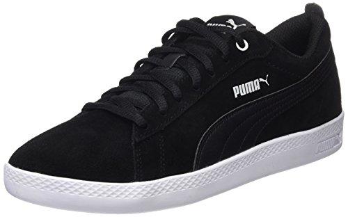 Puma Damen Smash Wns v2 SD Zapatillas, Schwarz Black Black, 39 EU